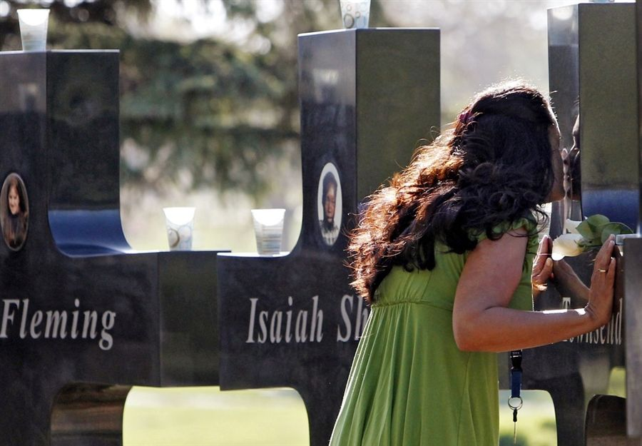 Remembering The Victims Of Columbine 13 Years Later