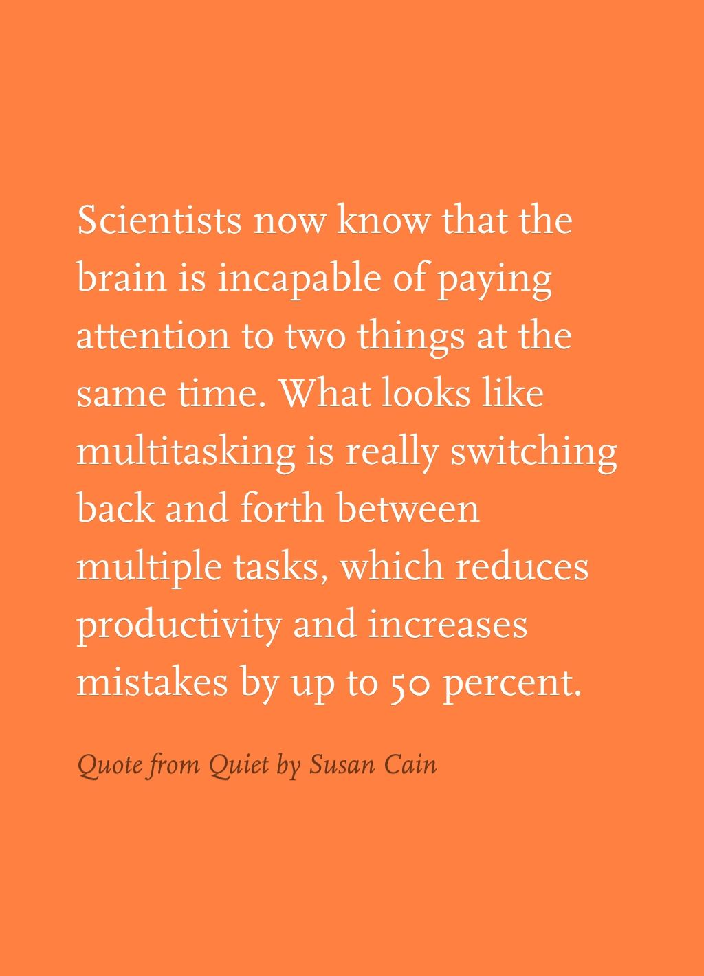 Quote From Quiet By Susan Cain So True But So Hard To Do Fun