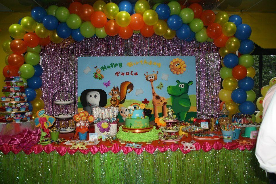 Baby Tv Themed Party Baby Tv Rainbow Party 1st Boy Birthday 1st