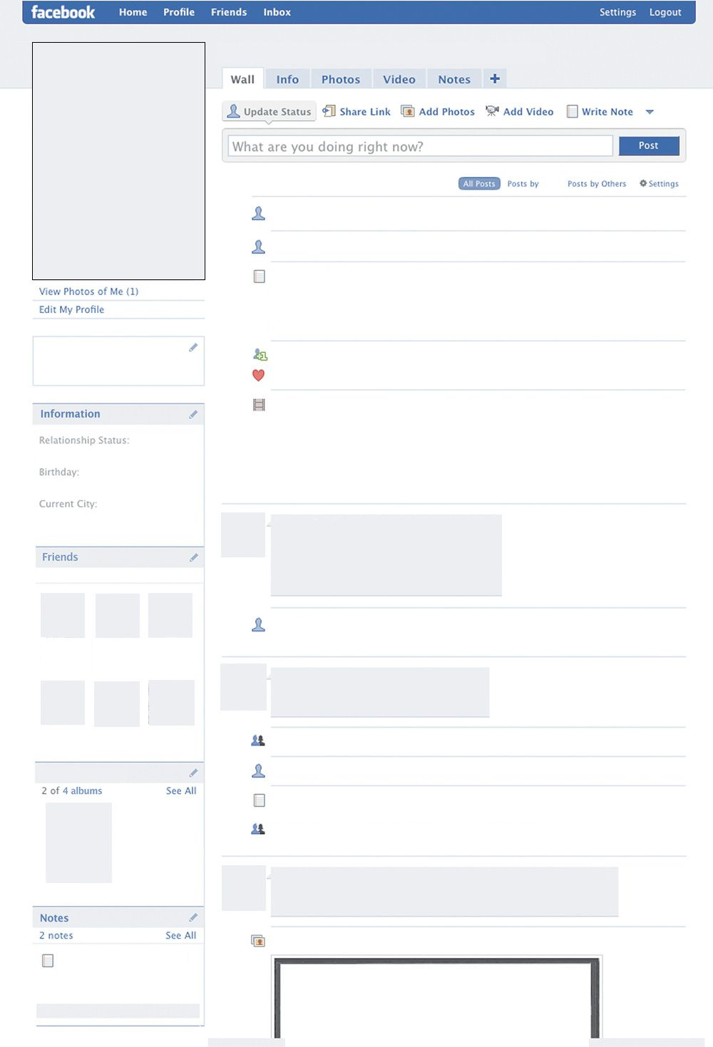 Facebook Template For Elearning  Elearning ELearning E