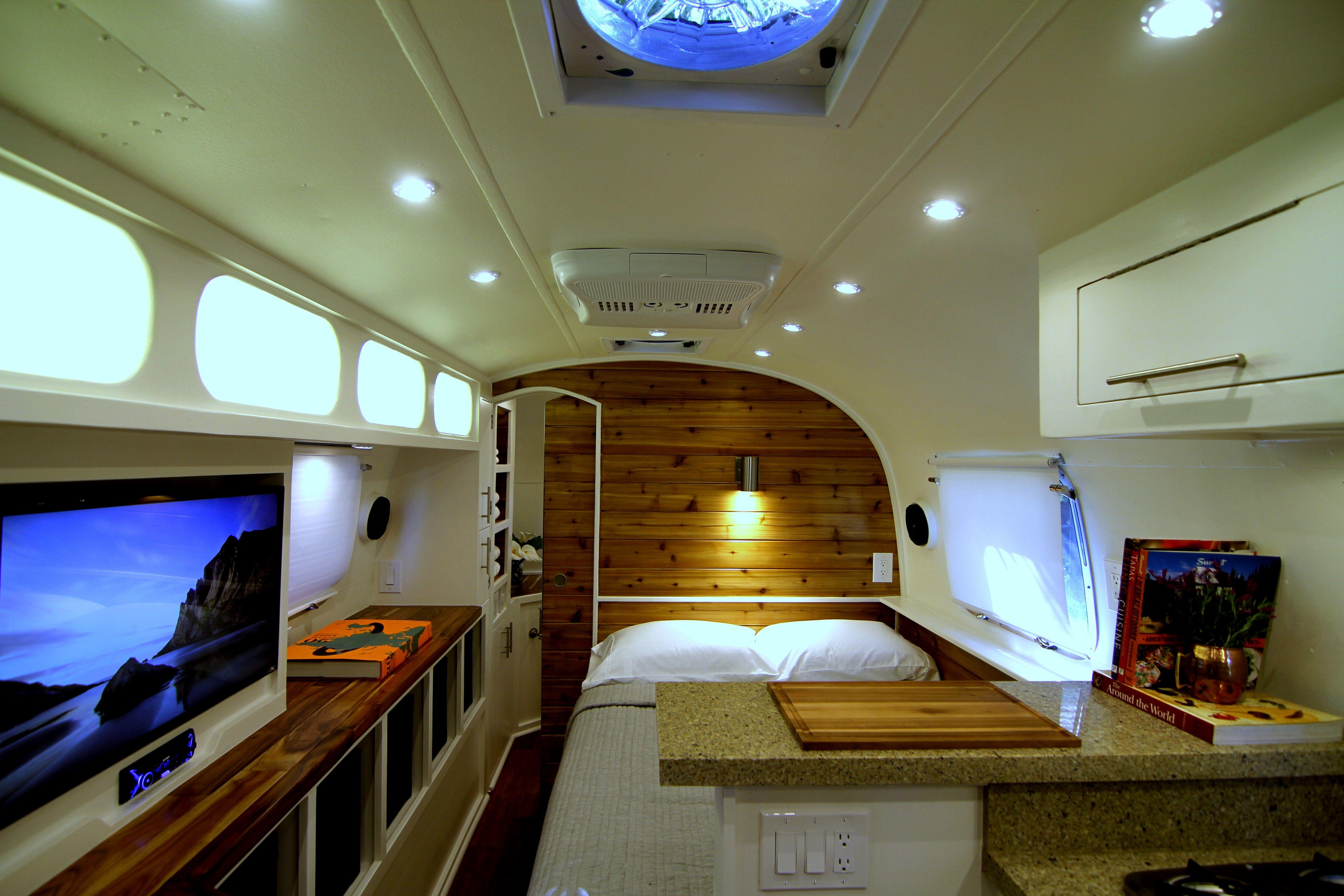 1975 Airstream Tradewind Airstream Renovation Rv Living Travel Trailer Remodel