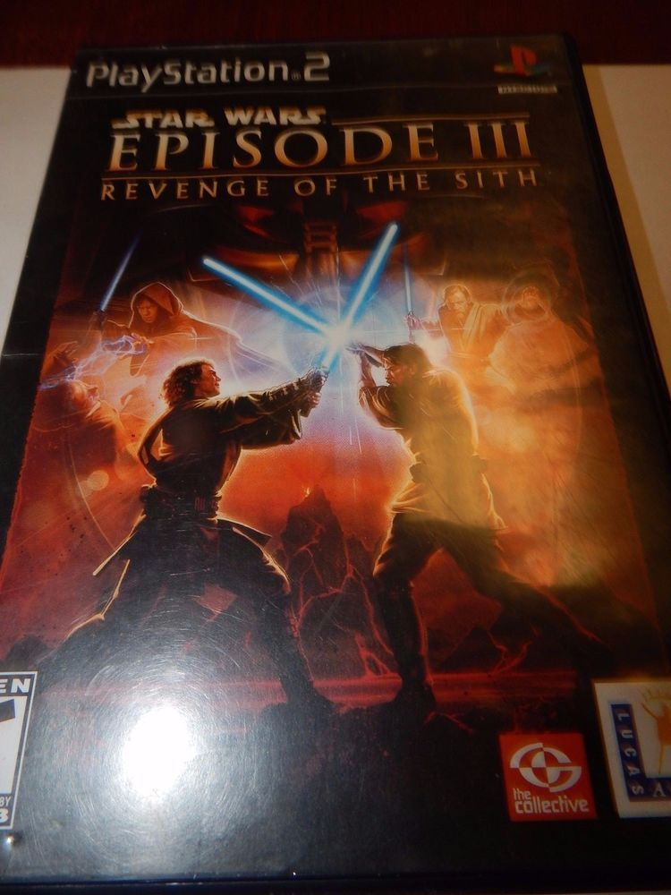 Playstation 2 Star Wars Episode Iii Revenge Of The Sith Star Wars Episodes Revenge Star Wars