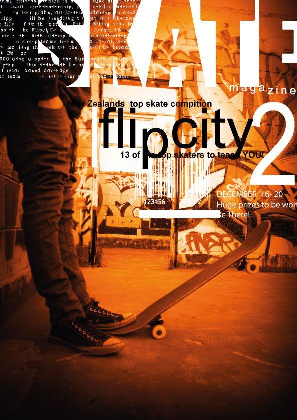 Magazine Cover Skateboarding Magazine Design Cover Poster Design Inspiration Graphic Design Logo