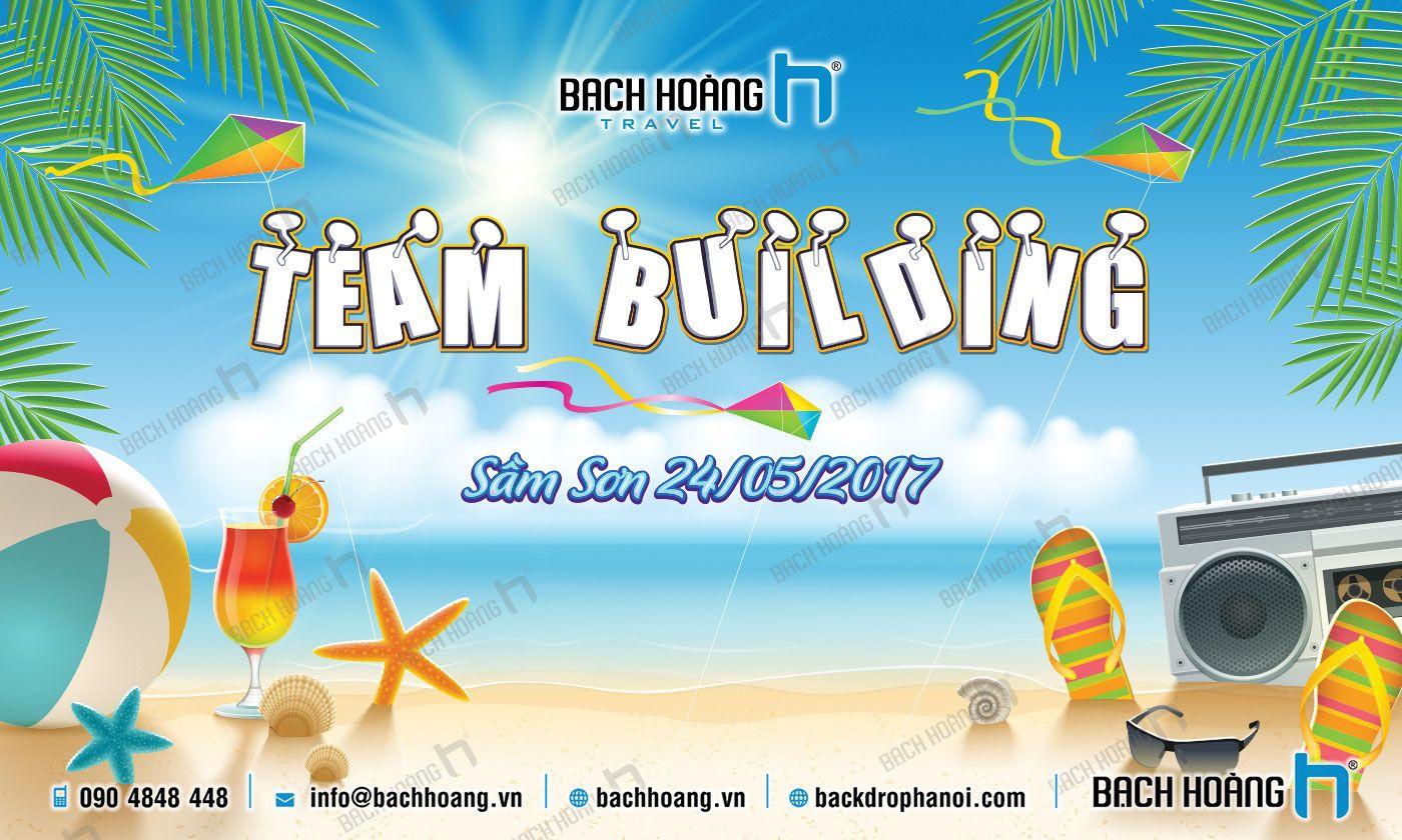 Tổng Hợp Mẫu Backdrop Phông Gala Dinner, Team Building Đẹp Nhất Phần 01   In ấn