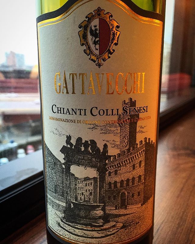 I sometimes buy wines because the label is pretty. What can I say? I'm a sucker for good marketing. This particular wine a gem. #chianti #gattavecchi #montepulciano #italy #italianwine #redwine #wine #ivebeenthere #winelabel #marketing #winetime #happyhour #wineo