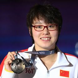 Swimmer Fu Yuanhui becomes a hit on social media