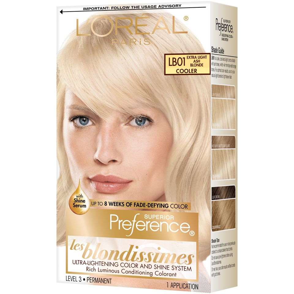 L Ora C Al Paris Superior Preference Permanent Hair Color Superior