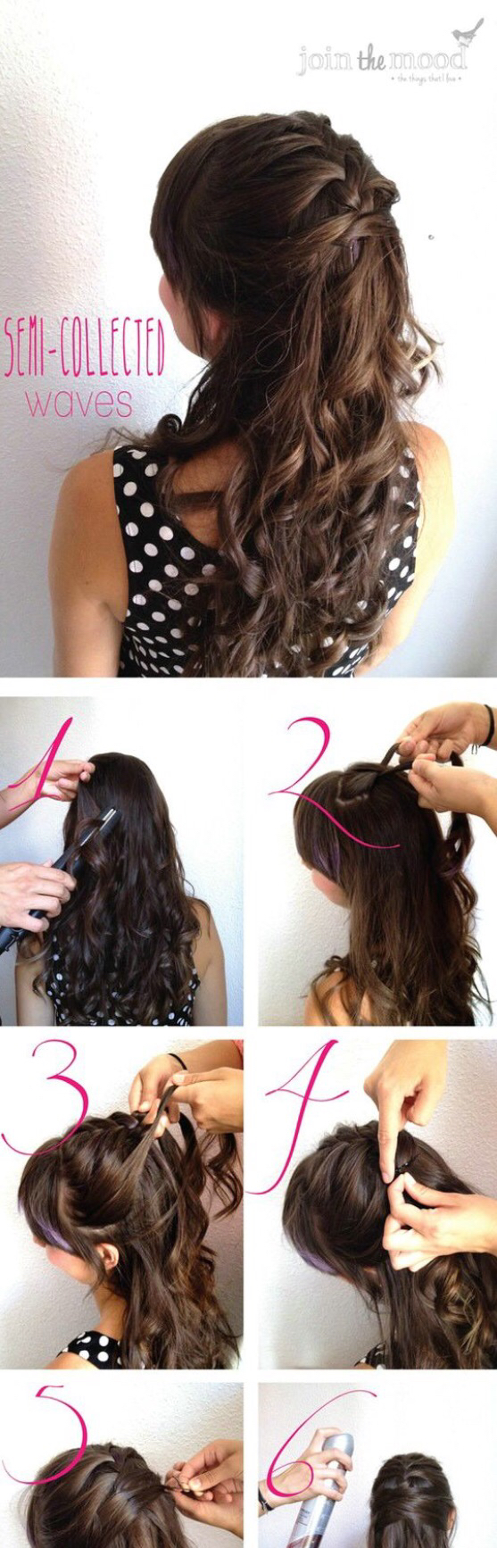 Very pretty pelo trenzado pinterest hair style makeup and
