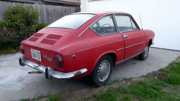 Tribute Potential 1968 Fiat 850 Coupe With Images Fiat 850
