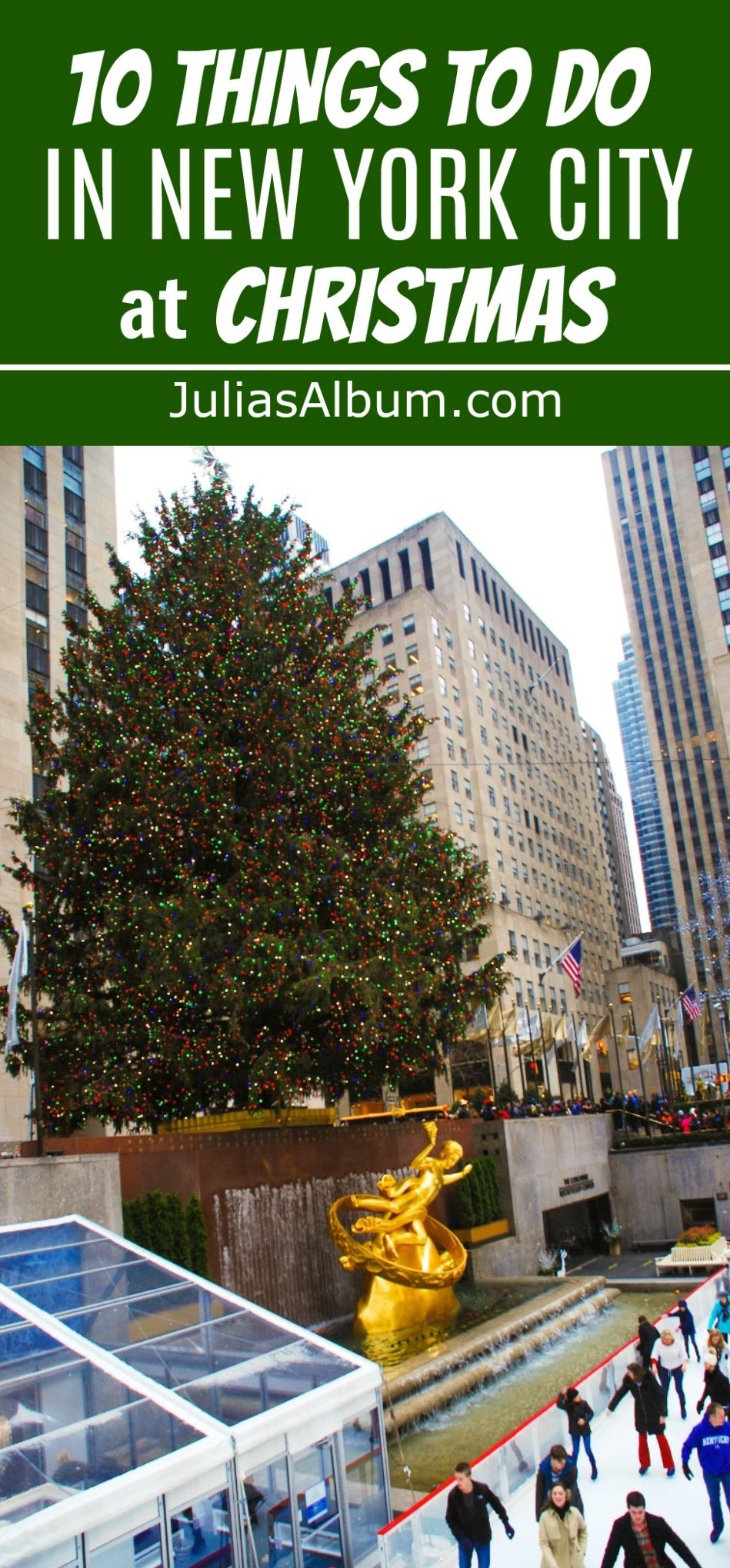10 Things to do in New York City in December #Christmas #holidays #NYC   TRAVEL LOVE   Nyc in ...