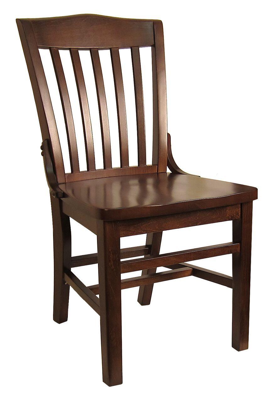 Beech schoolhouse chair h8235c commercial restaurant