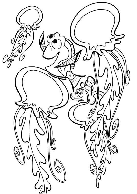 free online finding nemo coloring pages (With images) | Finding nemo  coloring pages, Nemo coloring pages, Disney coloring pages | 756x535