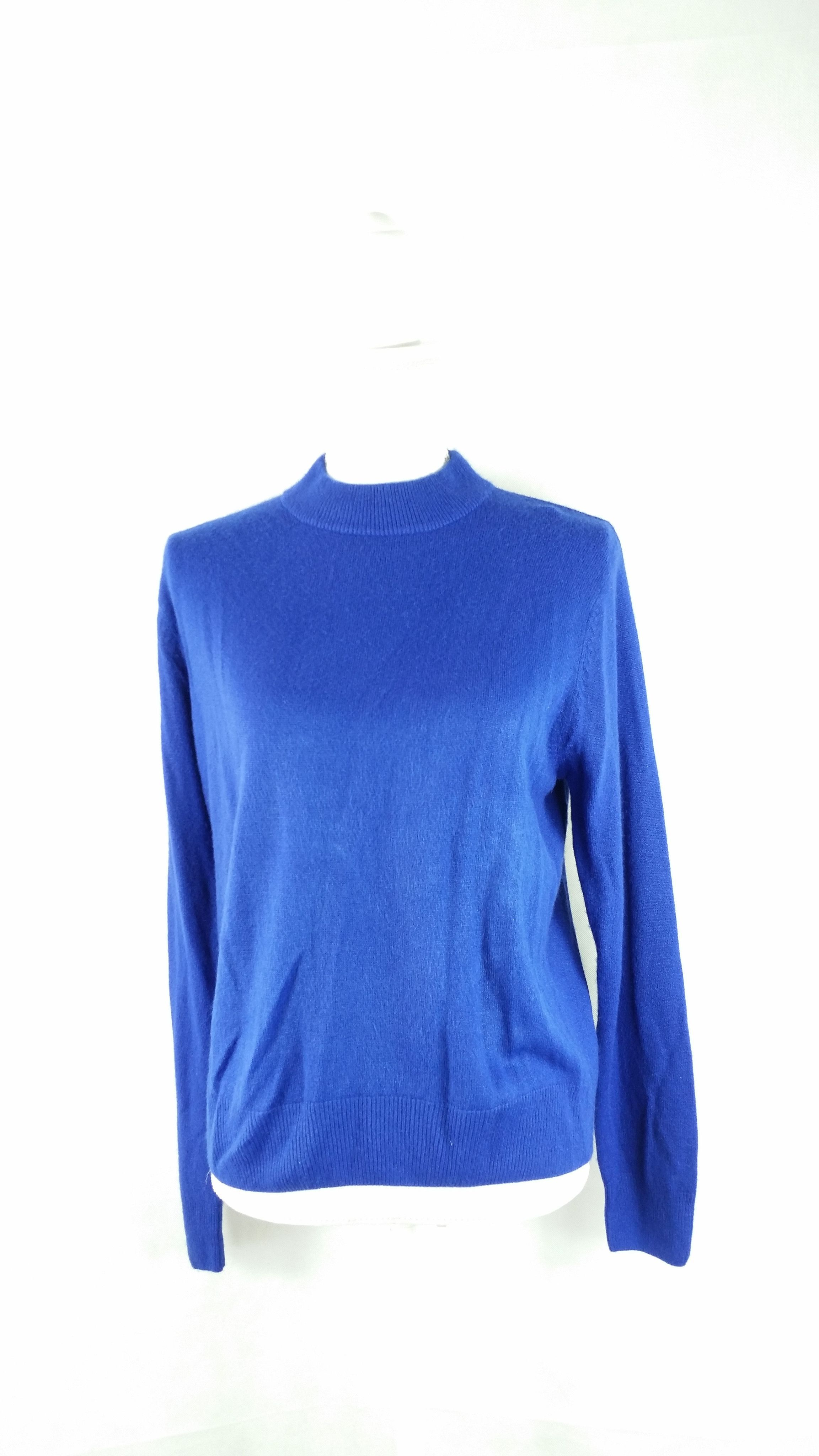 Vintage Royal Blue Mock Turtleneck Sweater Sz Medium | Tops ...