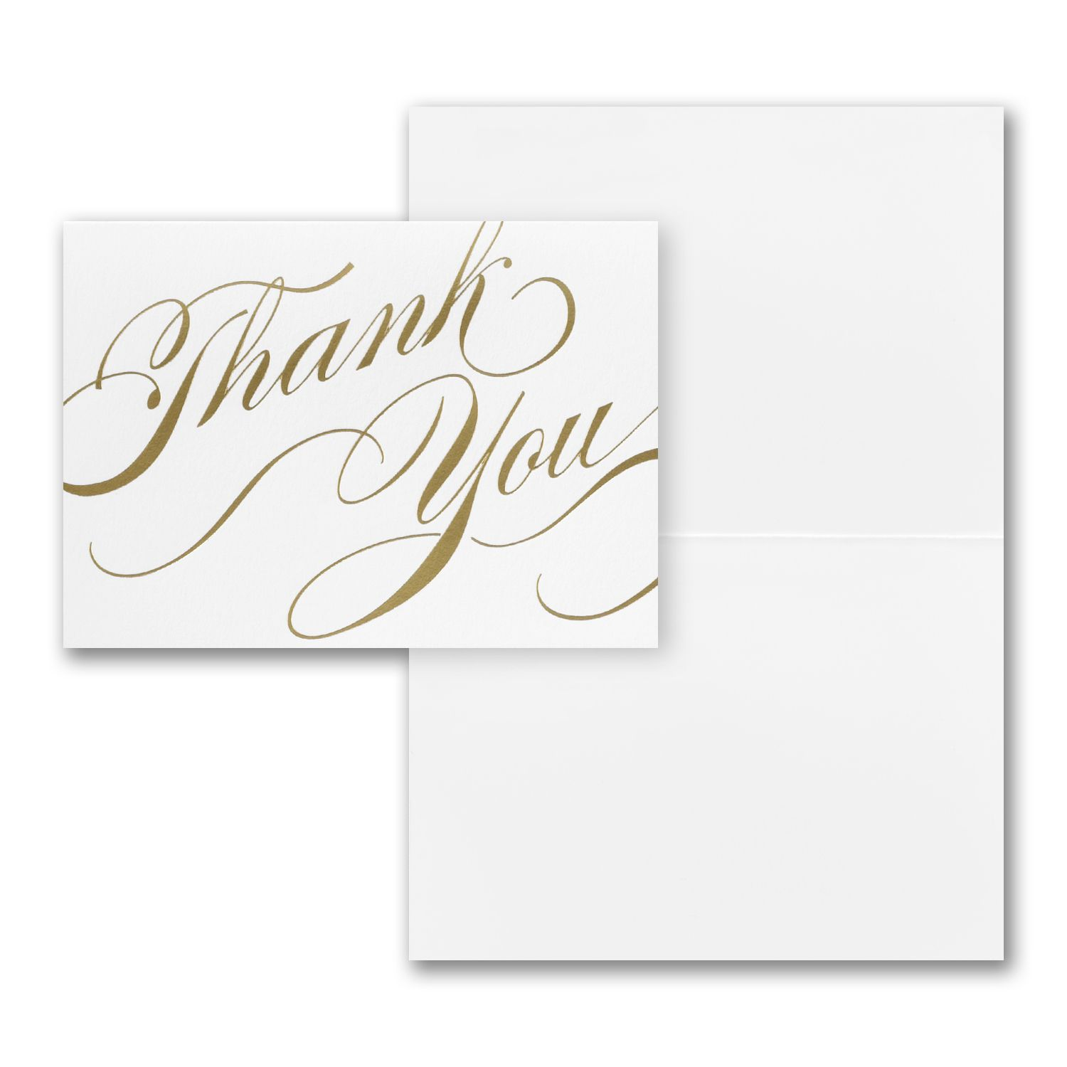 Invitations Blank Cards Gifts Leaves Embossed Note Card Thank You Notes