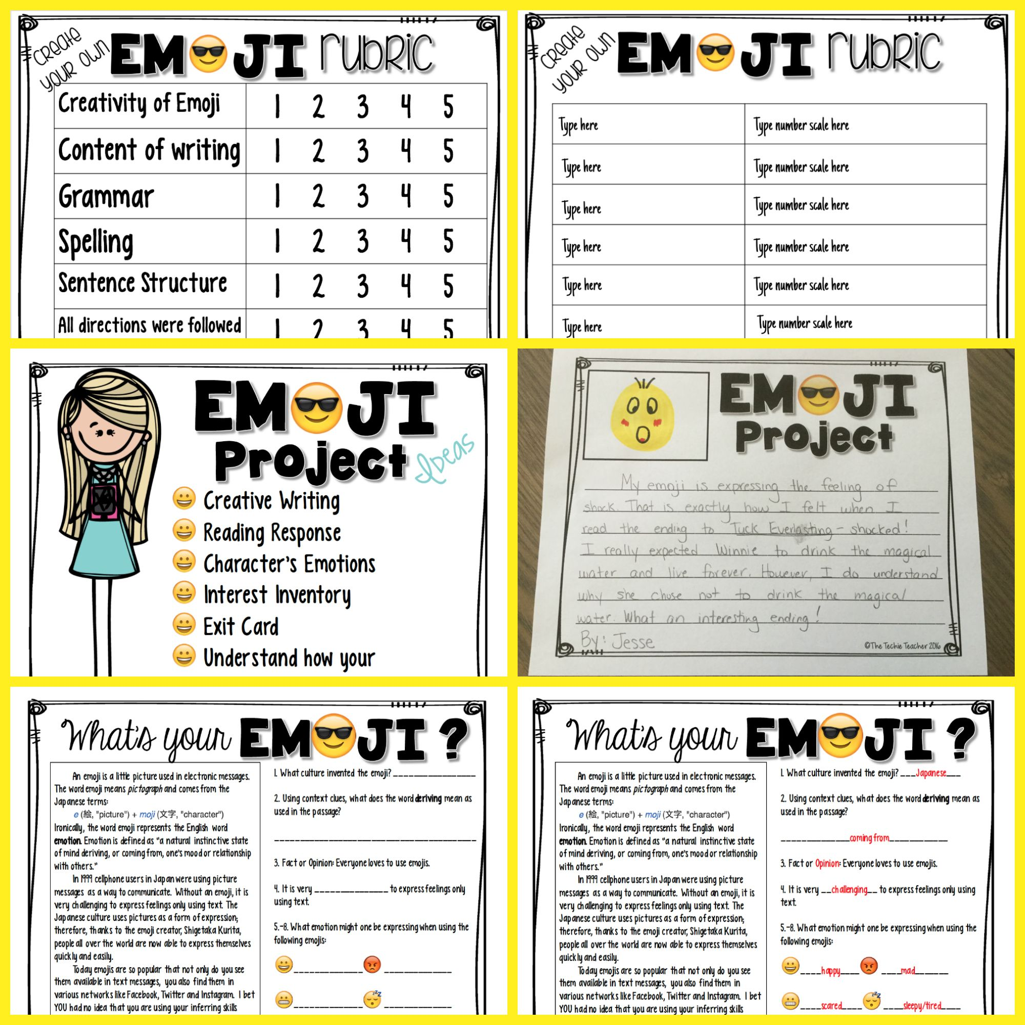 Create Your Own Emoji Activity