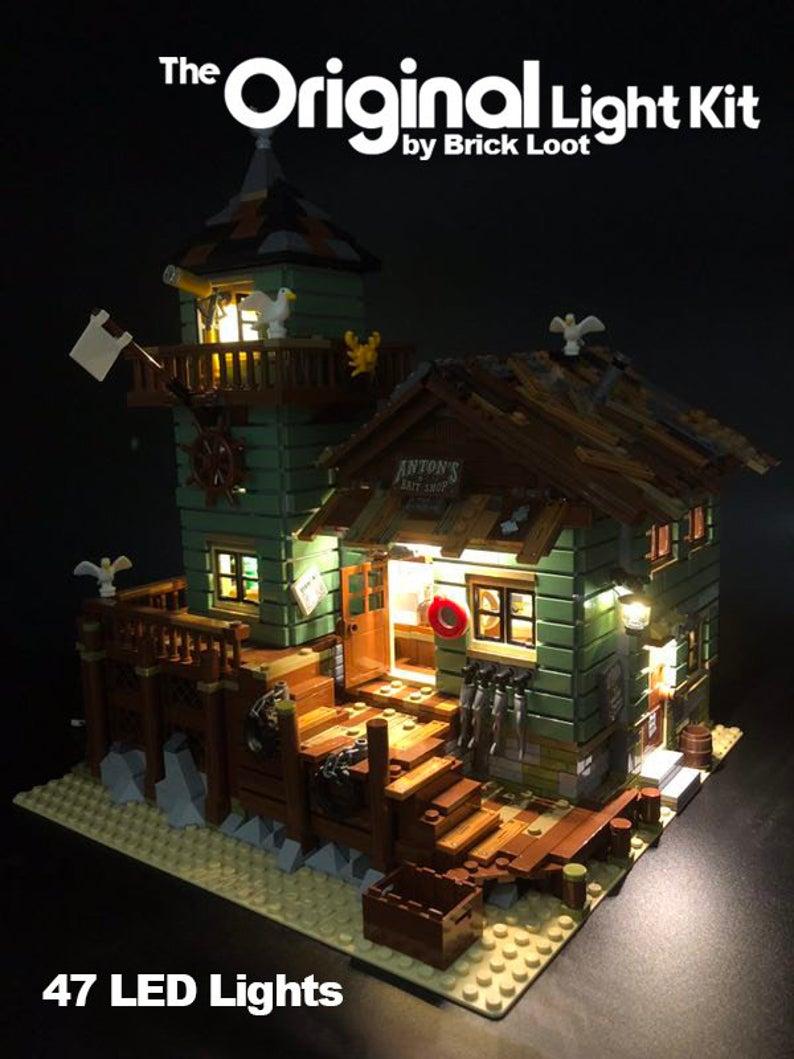 LED Lighting kit for LEGO Ideas Old Fishing Store 21310