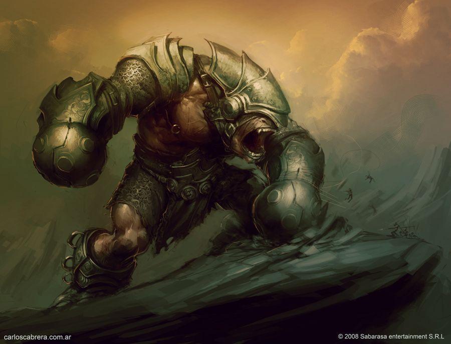 Giant Monster By Artbycarlosdeviantartcom On At Deviantart