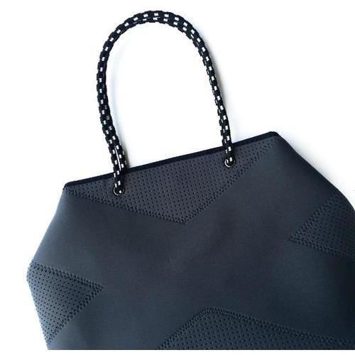 Prene Bags Perforated Neoprene Tote Bag Handbag