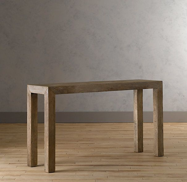 Console table...