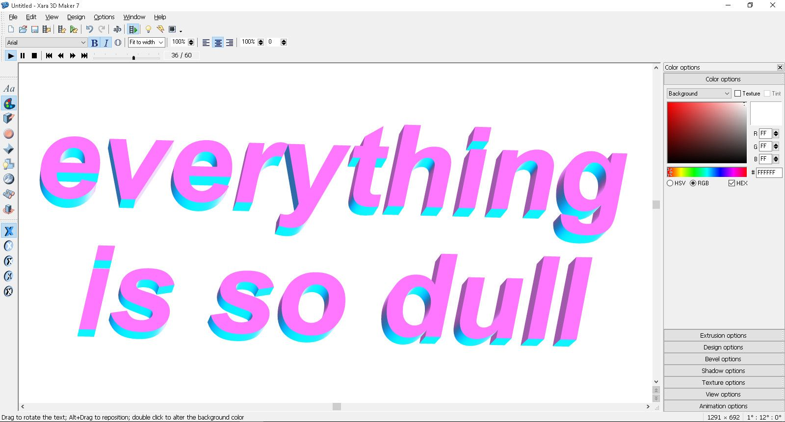 How To Create Tumblr Style Animated Text Text Animation