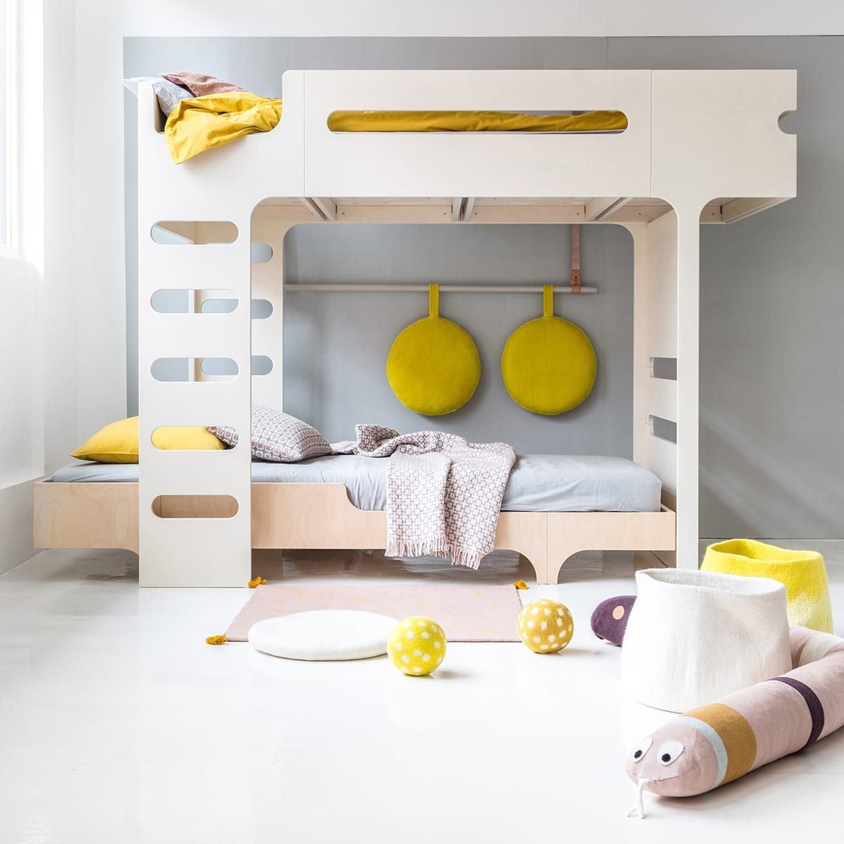 Design furniture for childrenus rooms beds desks benches rafa