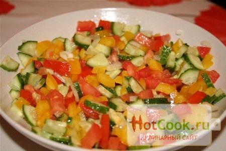 салат светофор классический рецепт с фото