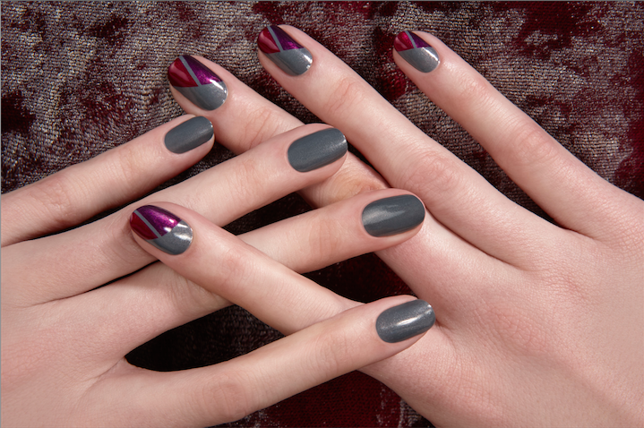 Asymmetric Triangles by JINsoon #nailart | Sephora Beauty Board