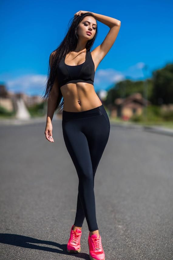 Photo of Fitness Clothes Women, Set, leggings women, Activewea, Yoga set, Top Leggings, Fitness Set, Air Running, Comfortable clothes, Body Fitness