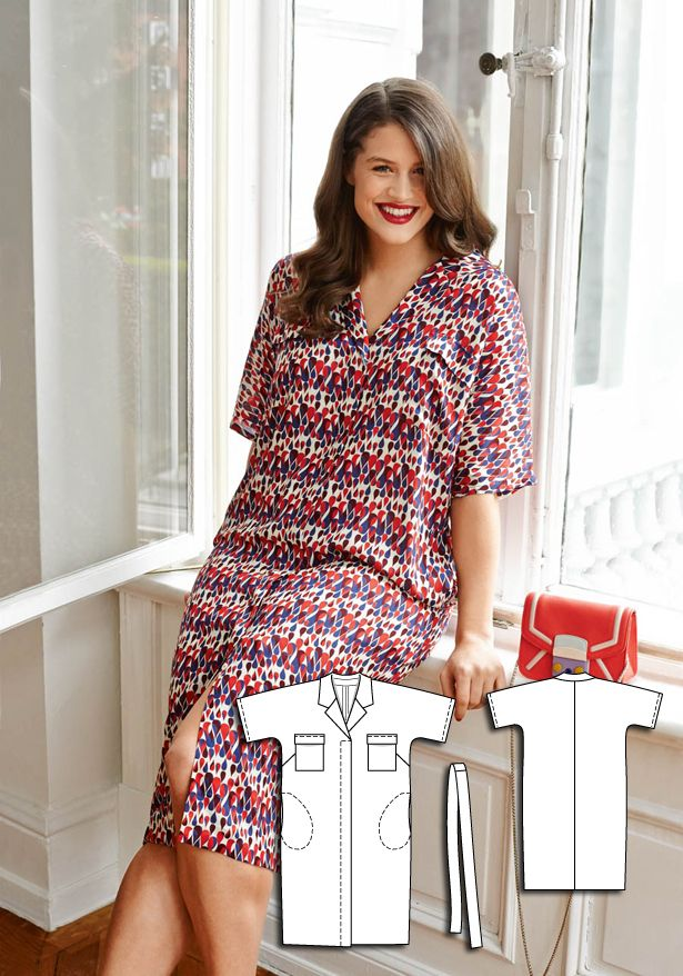 Tea Time: 8 New Plus Size Sewing Patterns | Mode, Kleidung und Nähen