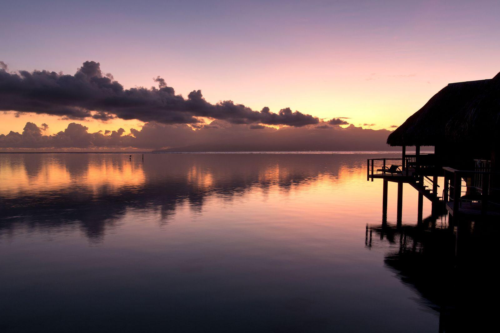 Tahitian dawn