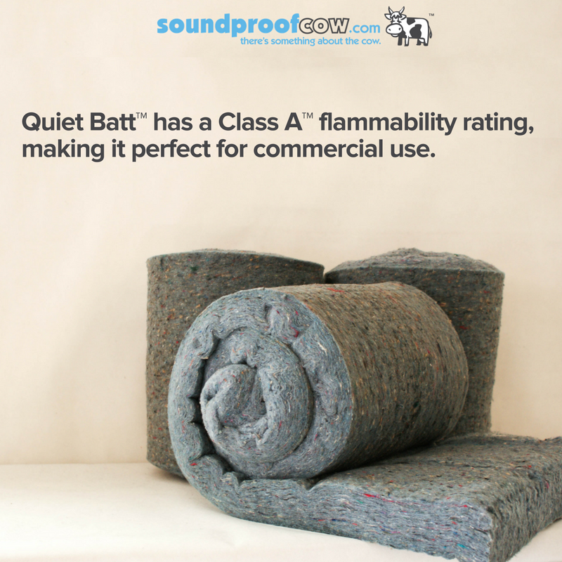 Quiet Batt Soundproofing Insulation Materials Soundproof Cow Sound Proofing Soundproofing Insulation Batt Insulation