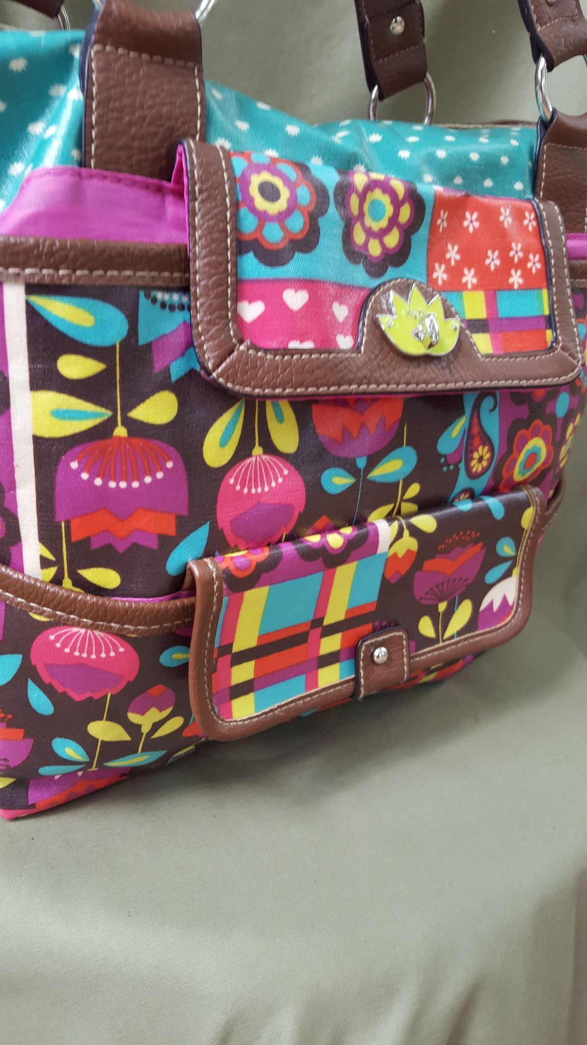 Multi-colored LILY BLOOM Purse | Products, Lilies and Lily bloom