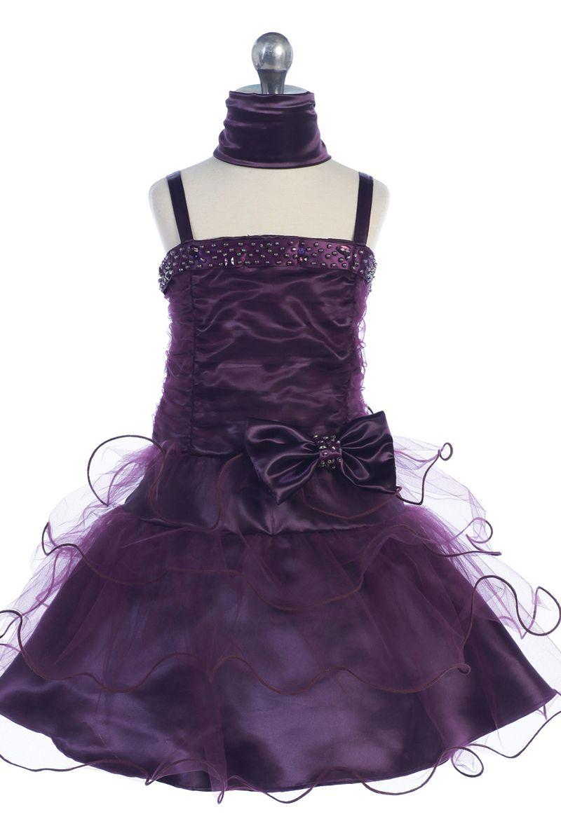 Abigail Girls Party Dress - PuddlesCollection.com