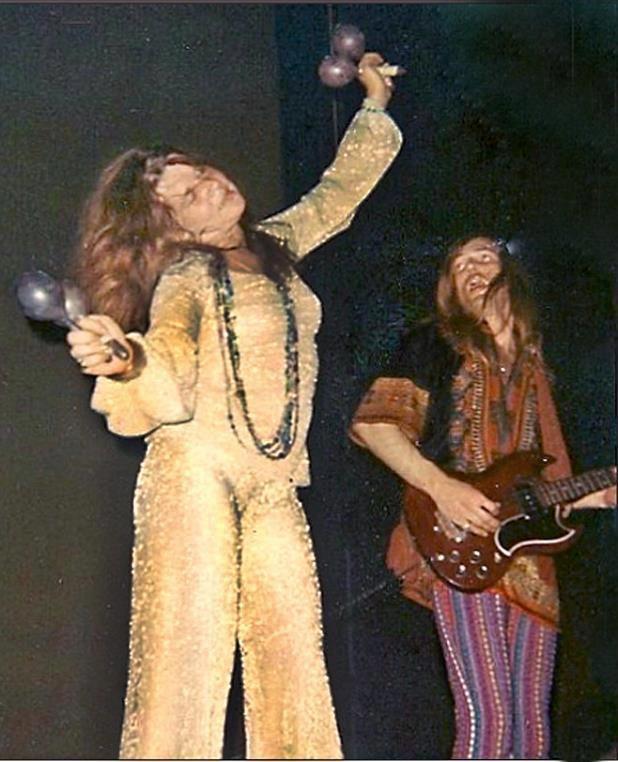 Janis Joplin and Sam Andrew - 1966.