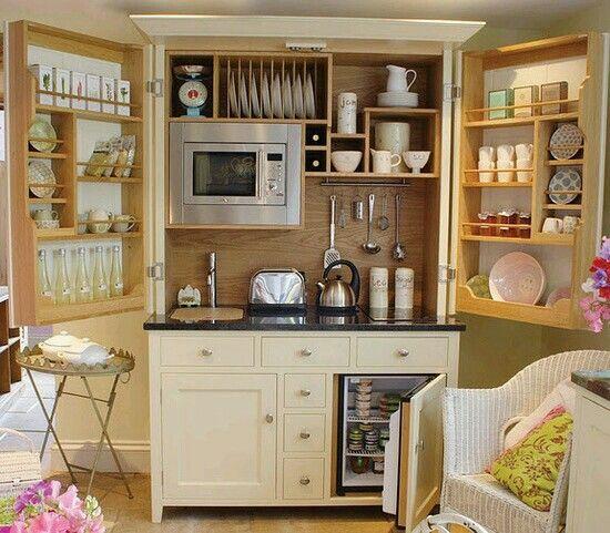 Small kitchen | Ideas de organización para casas pequeñas ...