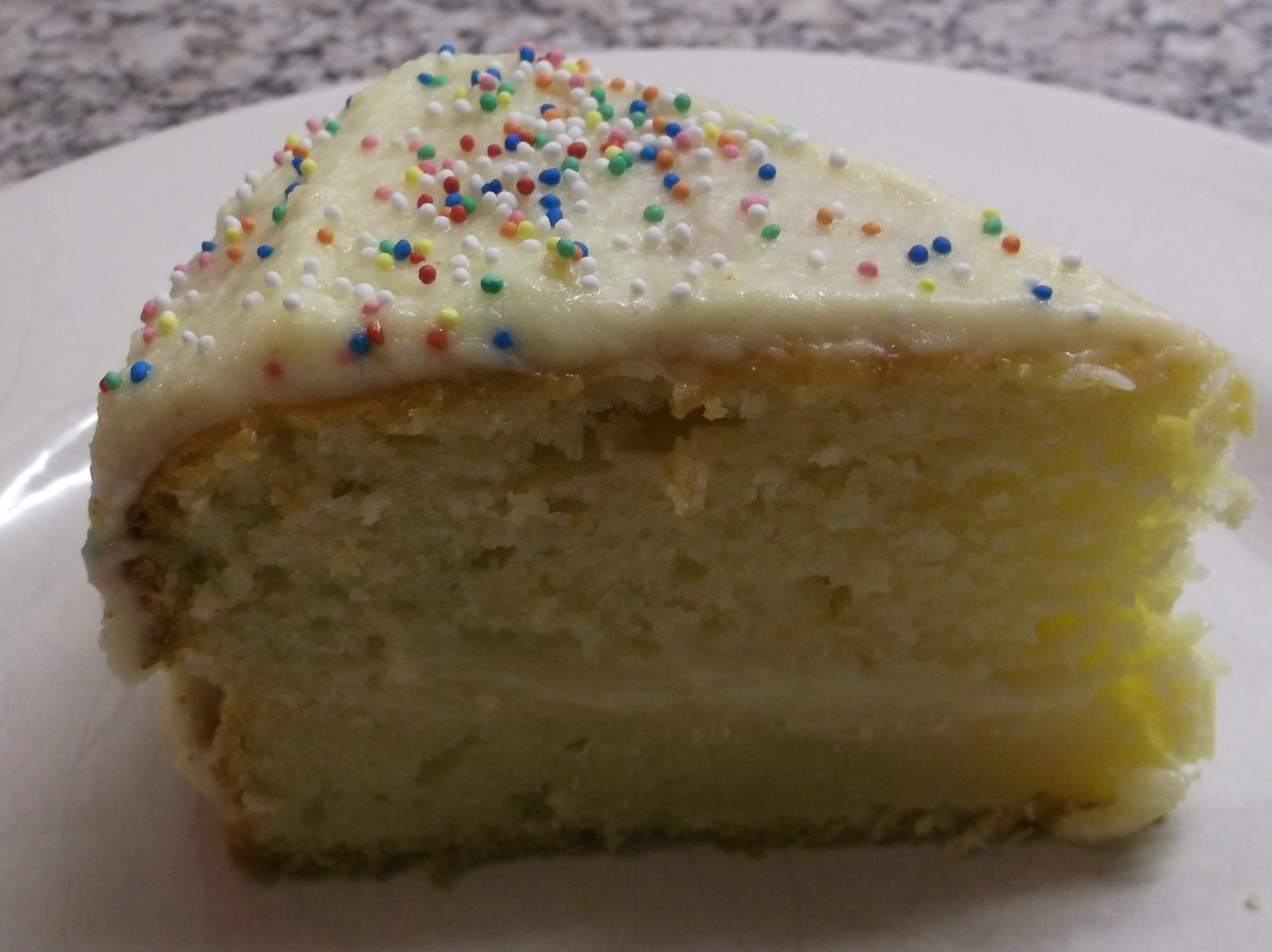 cottage cheese cake frosting