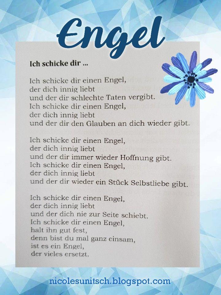 Gedichte Von Nicole Sunitsch Autorin Engel Zitate