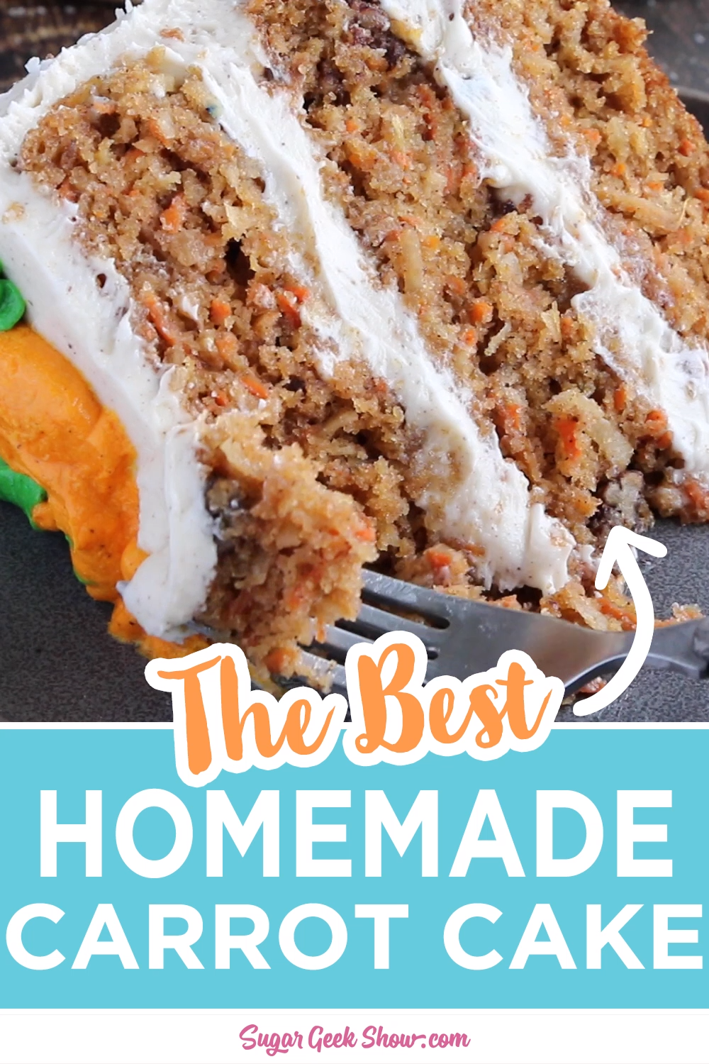 The best carrot cake with pineapple recipe