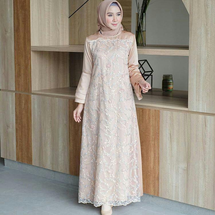Brokat dress | Pakaian wanita, Pakaian pesta