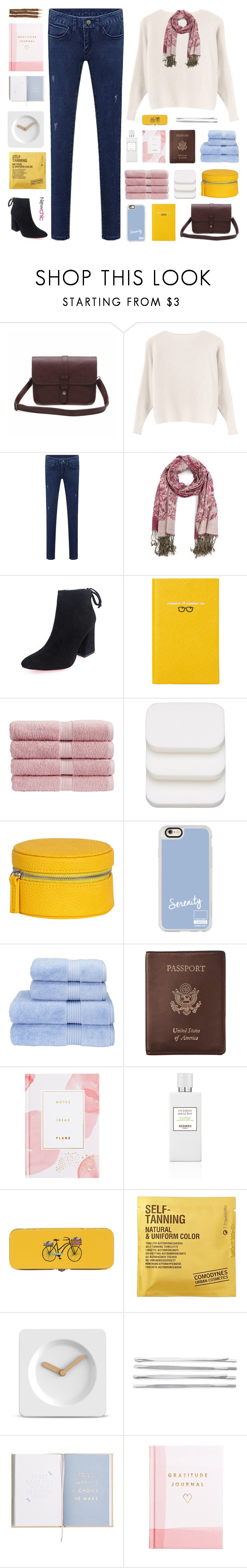"""Newchic V: BELT BAGS"" by paradiselemonade ❤ liked on Polyvore featuring Smythson, Christy, COVERGIRL, Casetify, Royce Leather, Thrive, Danica Studio, Comodynes, LEFF Amsterdam and Cara"