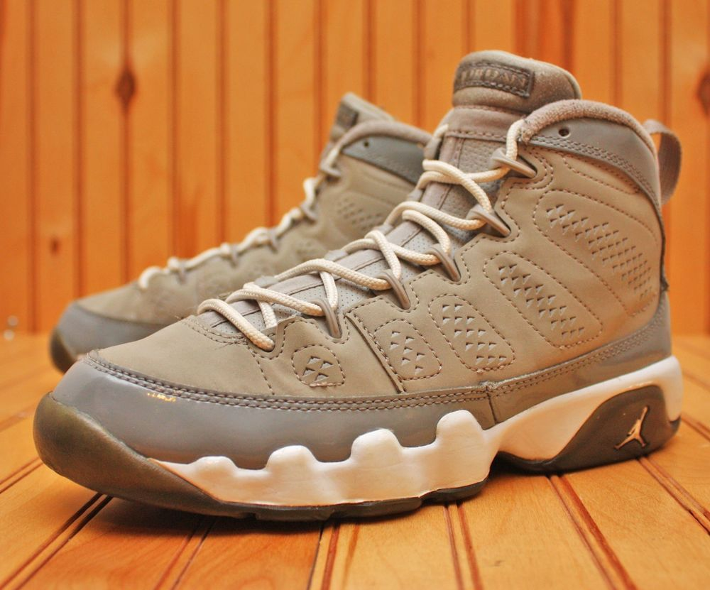classic best online hot new products Nike Air Jordan 9 IX Retro Size 4.5Y - Cool Grey White - 302359 ...