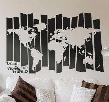 Vinilo mapa del mundo retro vinilos pinterest mapas for Vinilo mapa del mundo