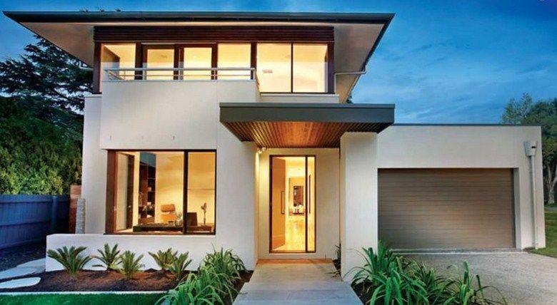 Fachadas de casas modernas peque as 4 fachadas for Arquitectura moderna casas pequenas