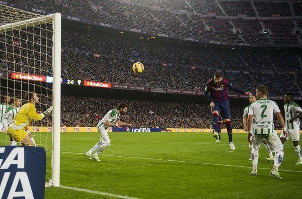 5-0: El Barça golea al Córdoba a medio gas