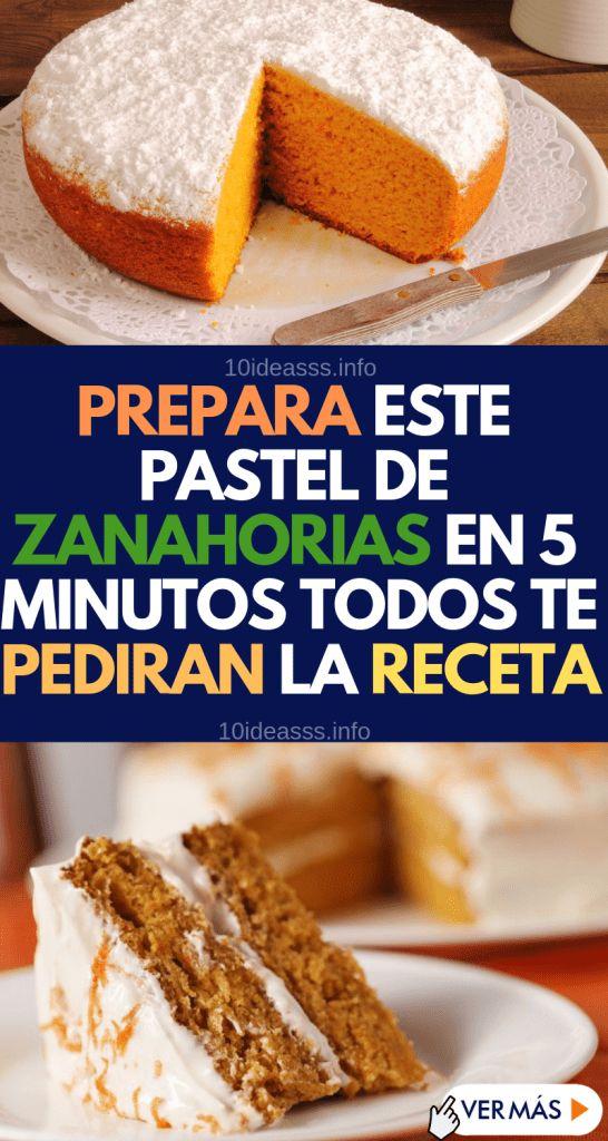 Pastry Pasteleria Postres Zanahoria Saludable Fácil