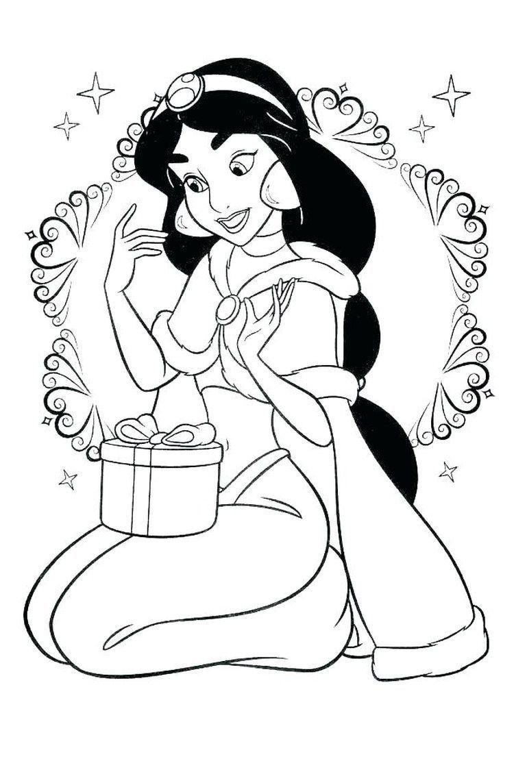 Prinzessin Jasmin Aladdin Malvorlagen - Fantasy Coloring Pages in