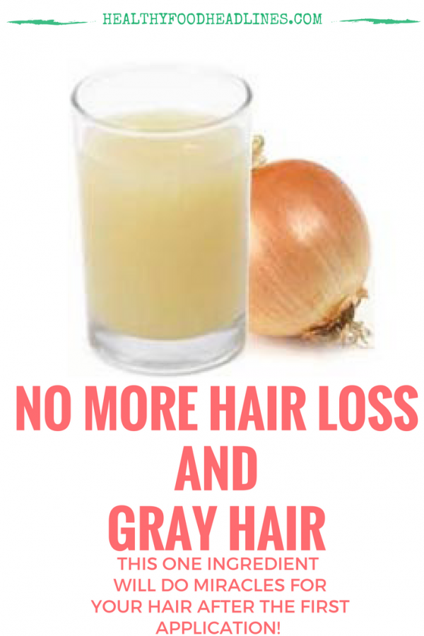 how to prepare onion juice for hair growth