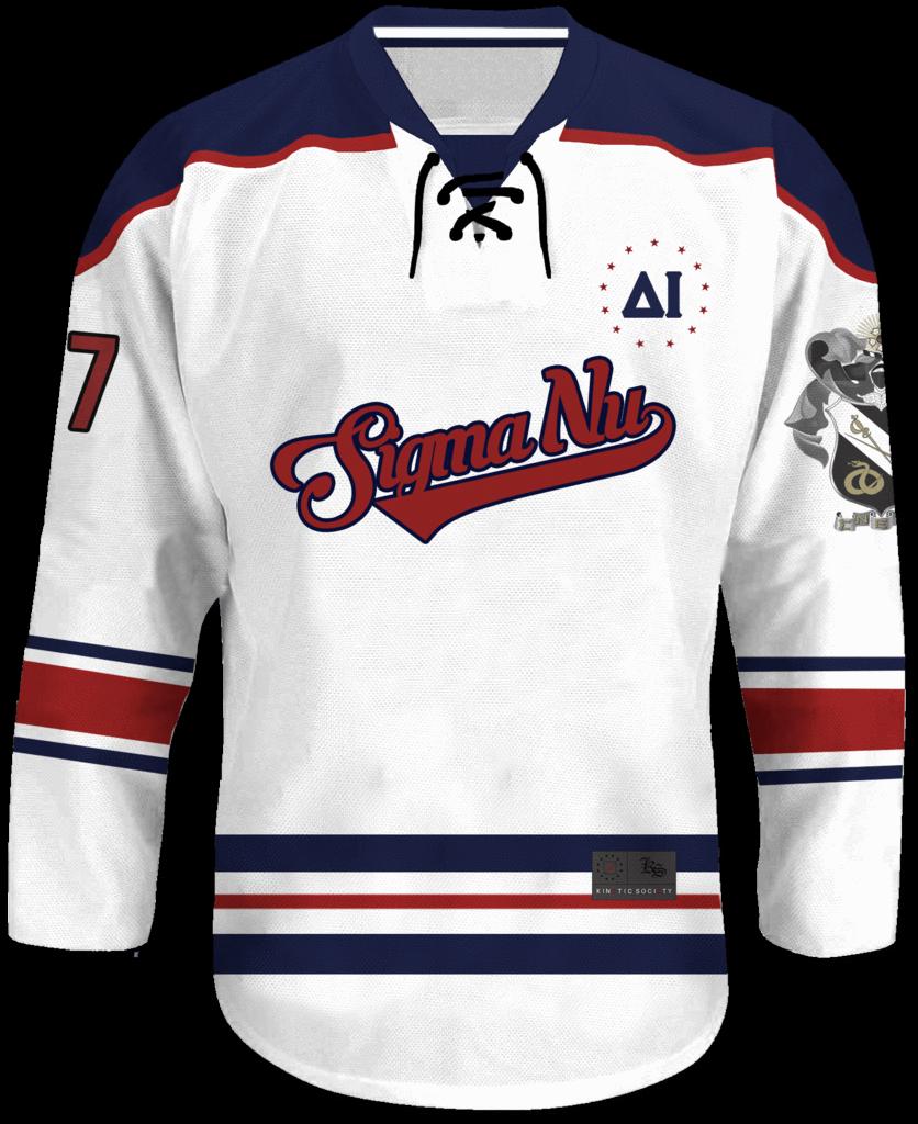 Sigma Nu - Captain Hockey Jersey 518bd4bf077