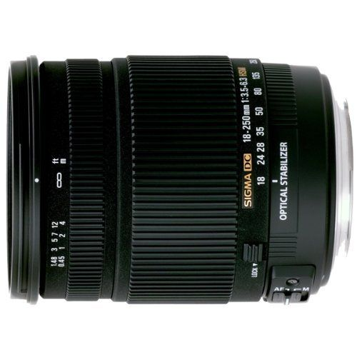 Sigma 18 250mm F 3 5 6 3 Dc Os Hsm If Lens For Canon Af Digital Slr Cameras By Sigma Http Www Canon Digital Slr Camera Nikon Digital Slr Digital Camera Lens