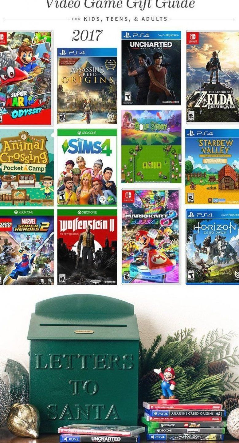 2017 video game gift guide giftideas giftguide